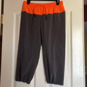 Lululemon calf-length light weight jogger. Size 6.